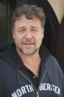 Russell Crowe (220 x 331) Casting: Bryan Cranston, Brit Marling, Russell Crowe, and Gerard Butler in New Projects